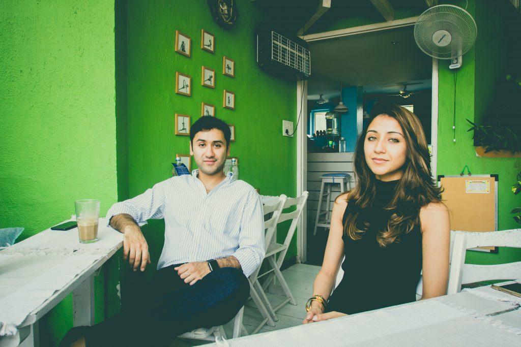 Mishal and Khrisha Shah, Co-Founders, Dysco