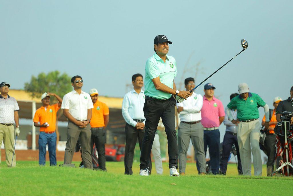 Kapil Dev at Vooty Golf County, Hyderabad