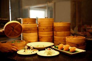Food served at Golden Dragon