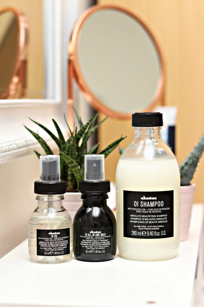 The Davines Oi Collection