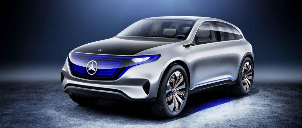 Mercedes-Benz concept EQ electric-Mobility