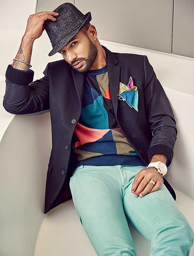 Shikhar Dhawan for The Man magazine