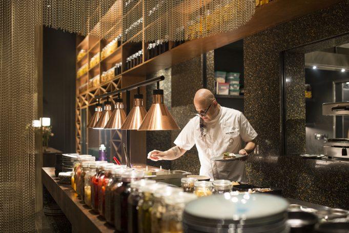 Chef Rahul Akerkar at Qualia