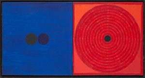 SH Raza, Prem Bindu, Acrylic on canvas, 15 x 31 inches, 1992