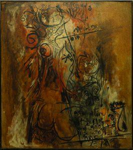 Painting by Vishwanadhan