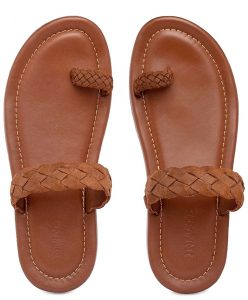 Footwear made by rehabilitated prison inmates