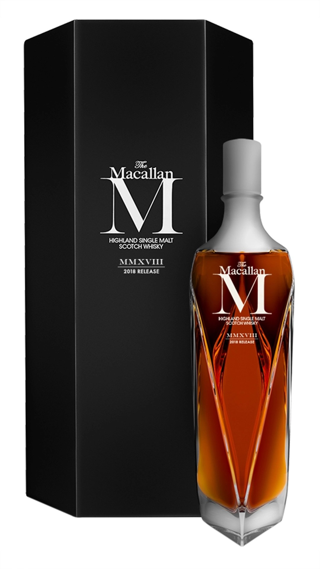2018 Macallan M from the Macallan Master Decanter series