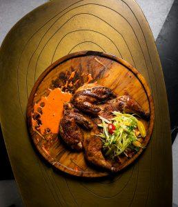 Mango Wood Smoked Chicken