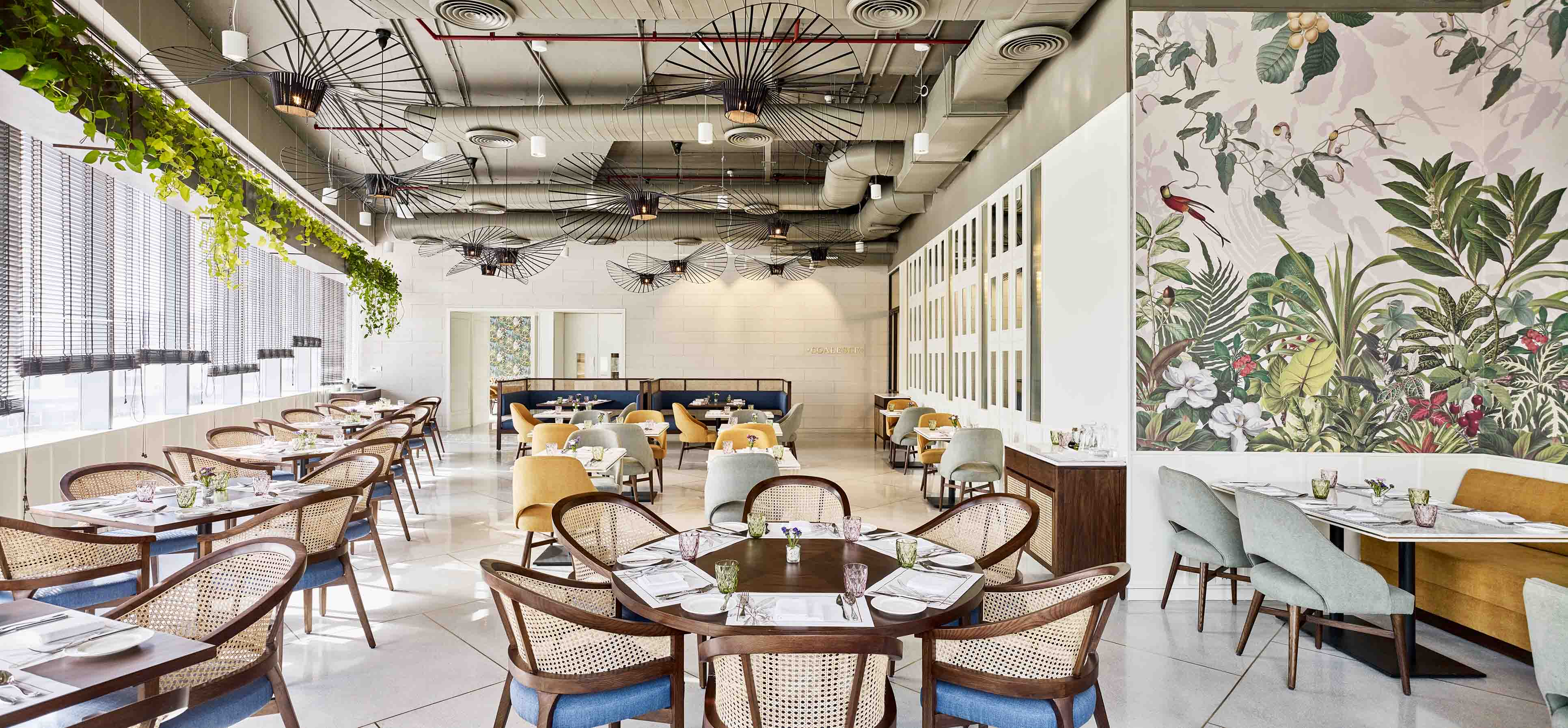 The Quorum Gurgaon Coalesce, the restaurant