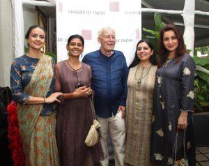 Gul Panag, Nandita Das, David Housego (Chairman), Mandeep Nagi (Design Director) and Tisca Chopra