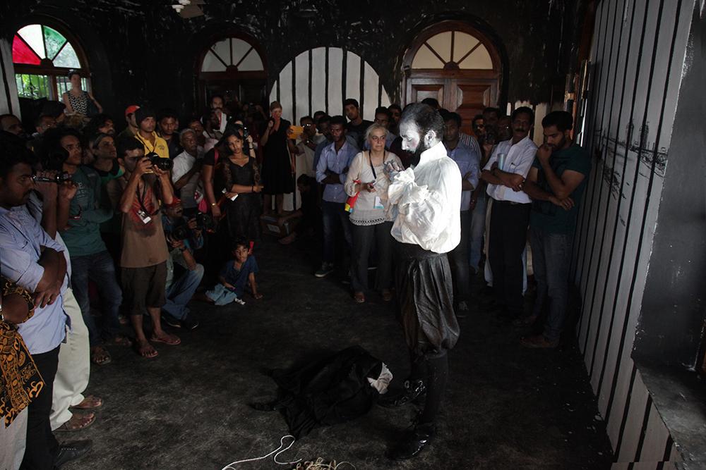 La Perle Noire, Aspenwall House, Kochi-Muziris Biennale, Kochi