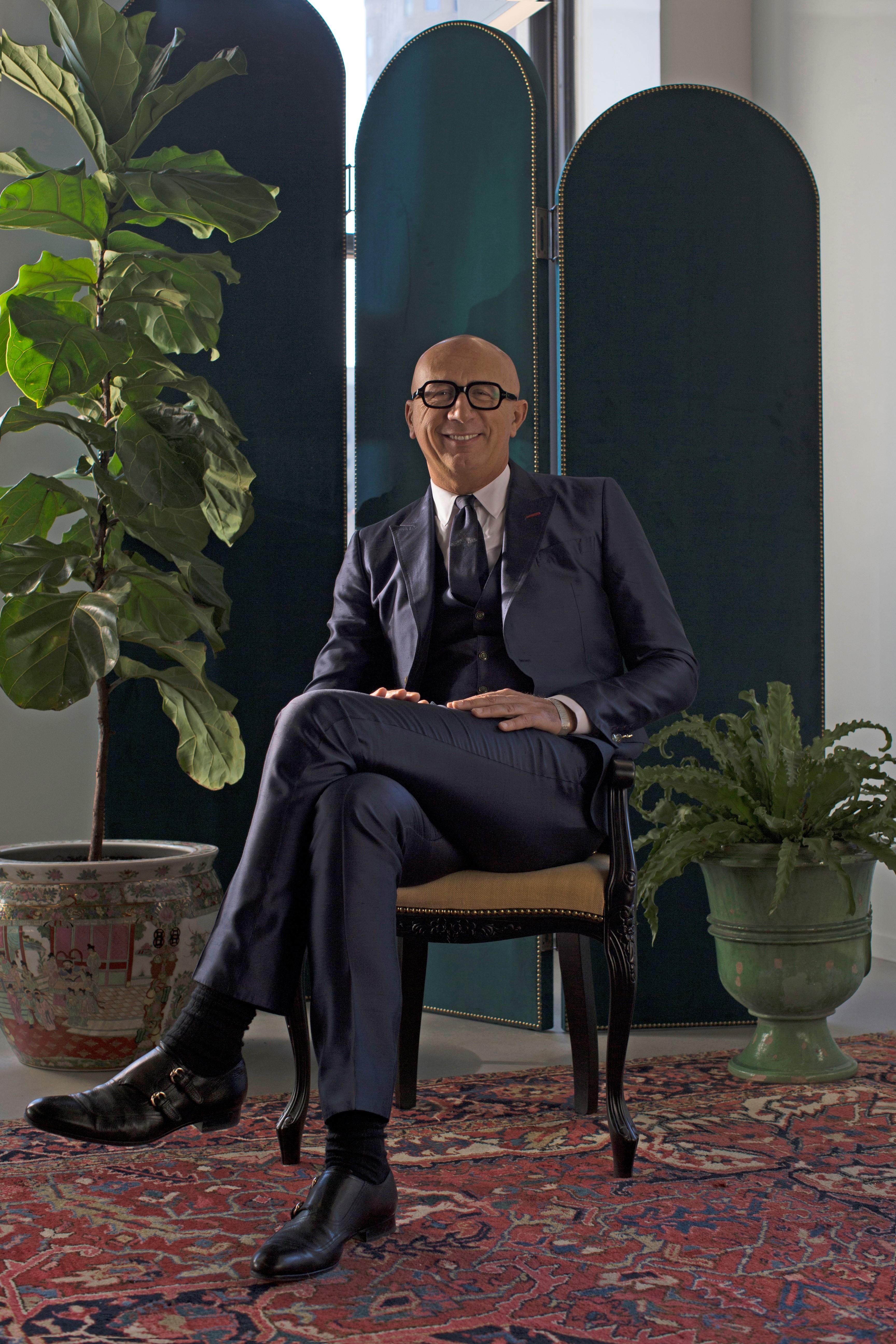 Gucci CEO Marco Bizzarri shot by Petra Collins