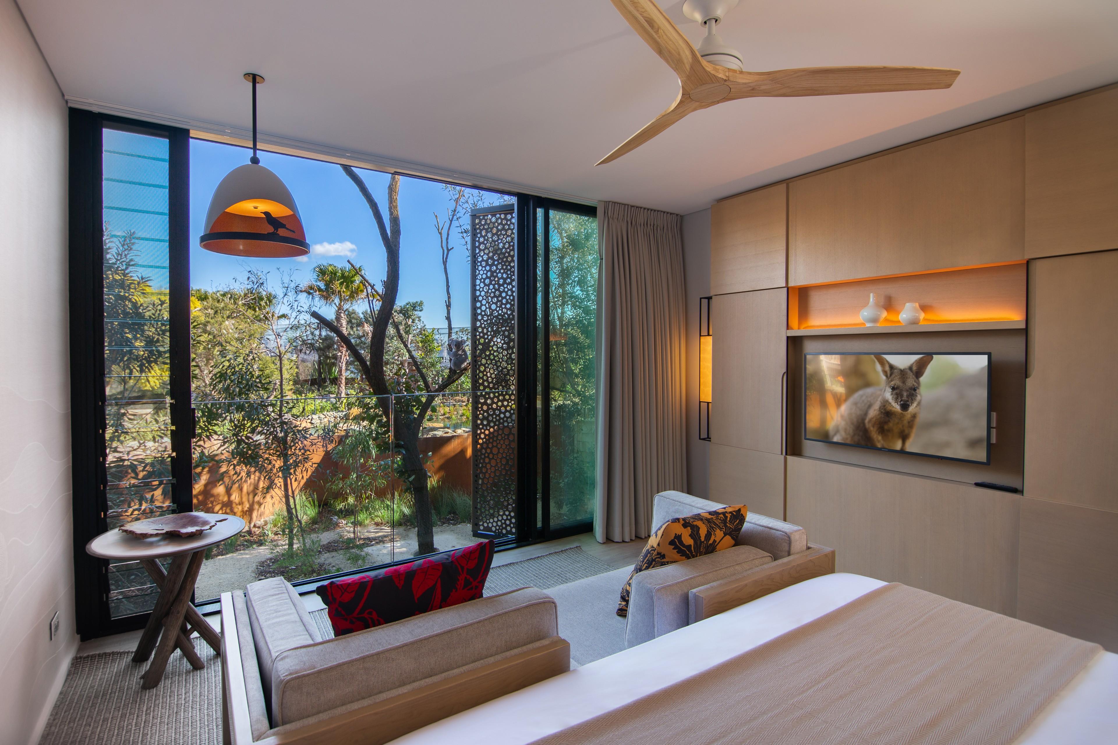 Animal View Room, Wildlife Retreat Taronga