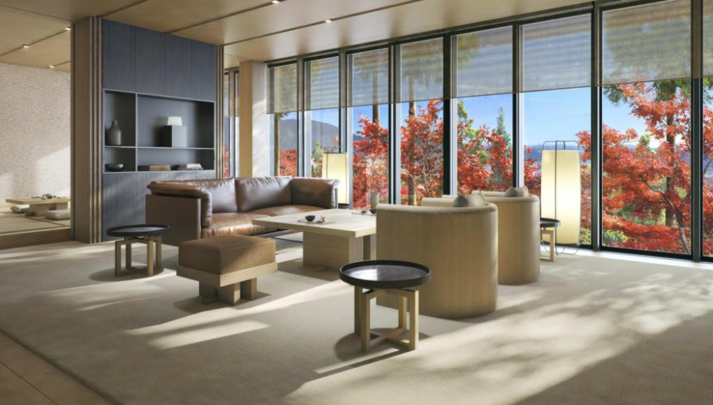 Washigamine Pavilion suite