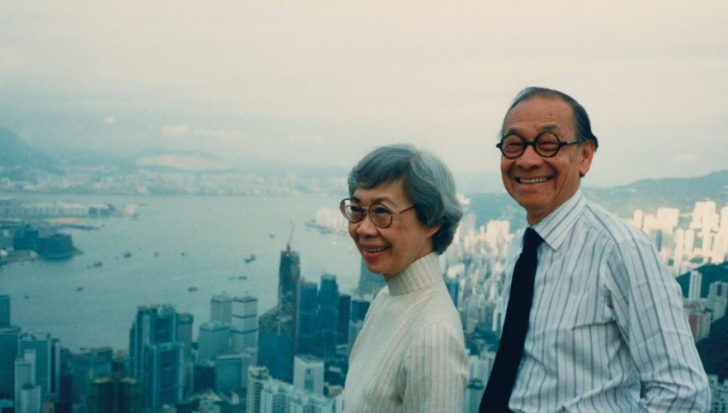 Eileen and I.M. Pei, Hong Kong, 1988 | Courtesy Eileen and I.M. Pei Family Archive