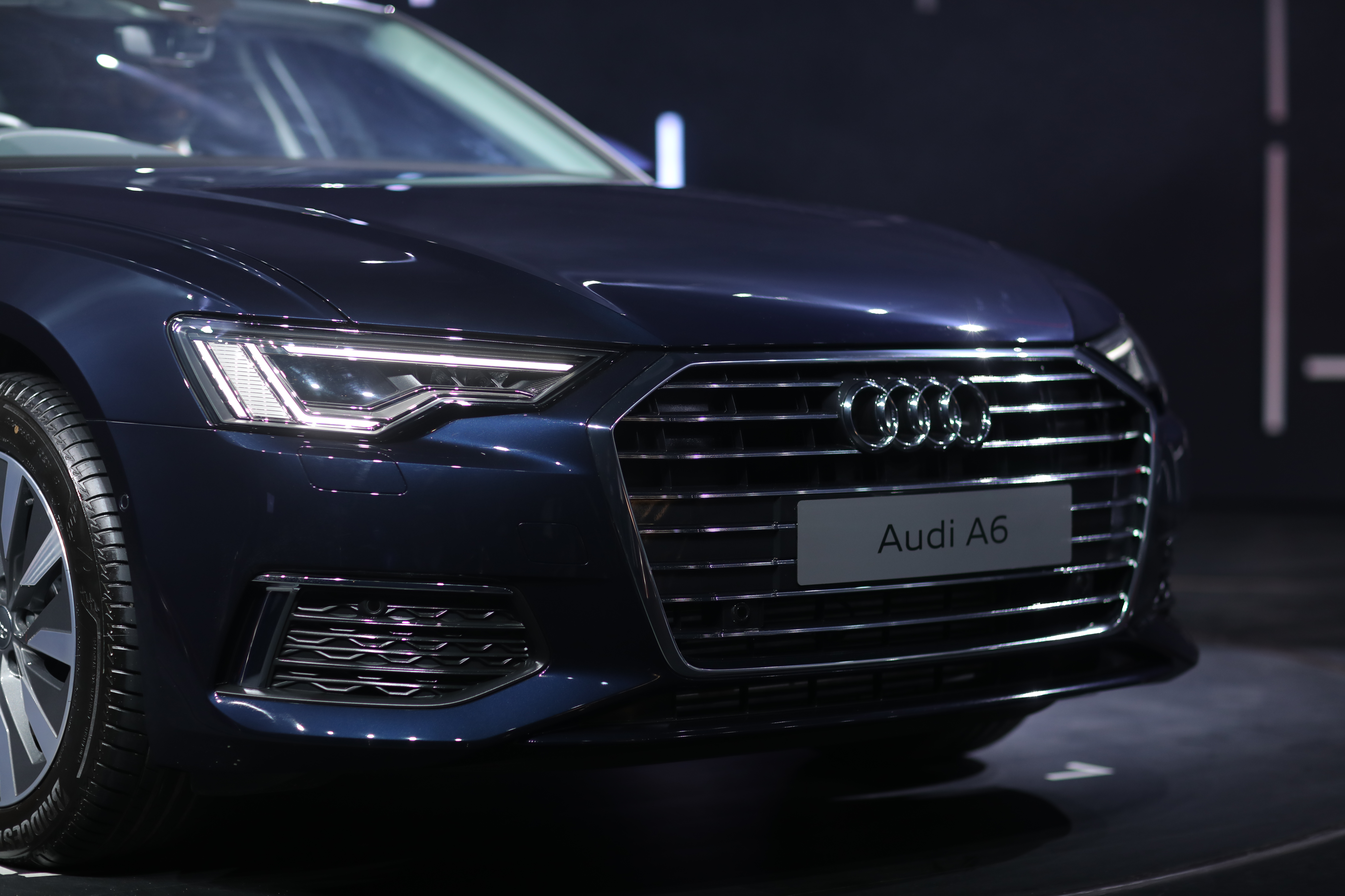 Exterior of the new Audi A6