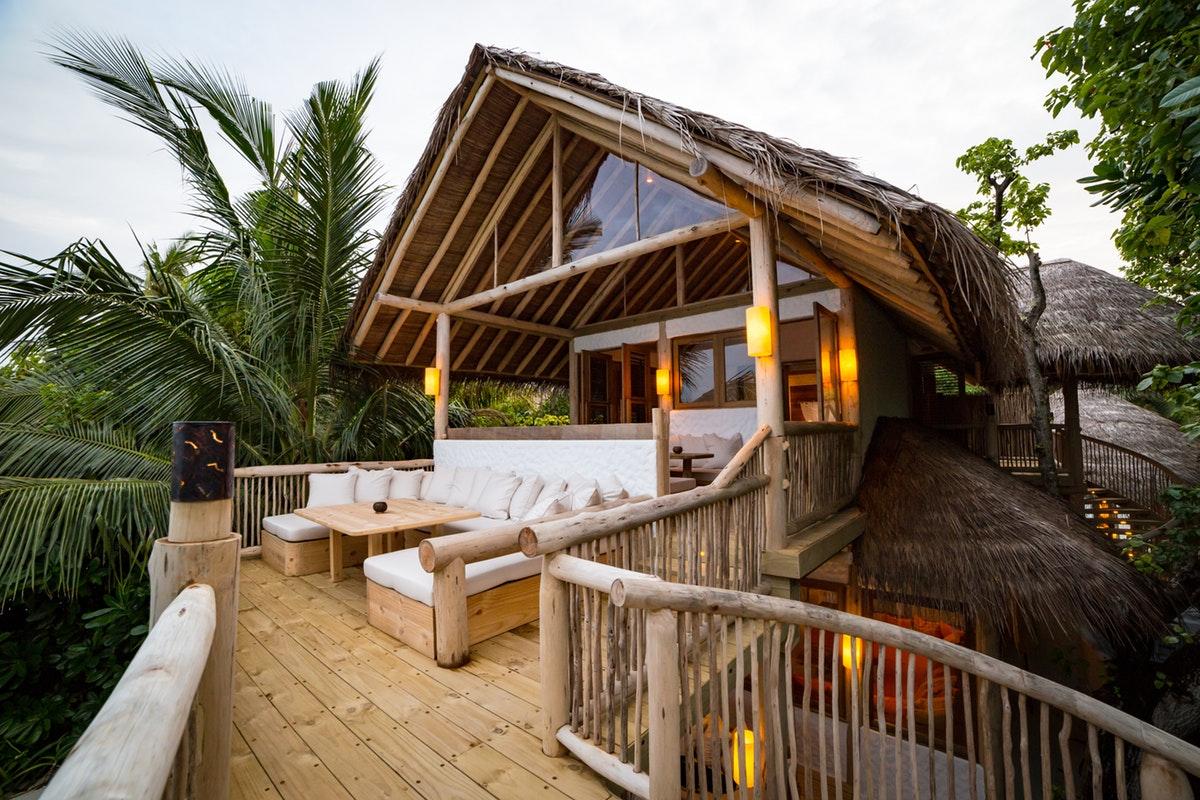 Two bedroom Crusoe Villa Suite with pool deck
