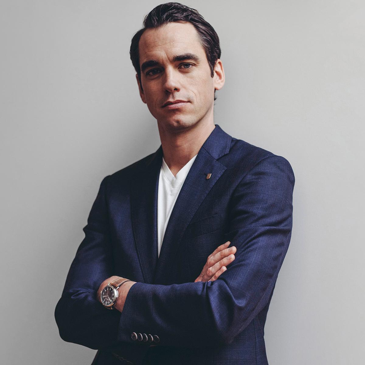 Edouard Meylan, CEO, H. Moser & Cie