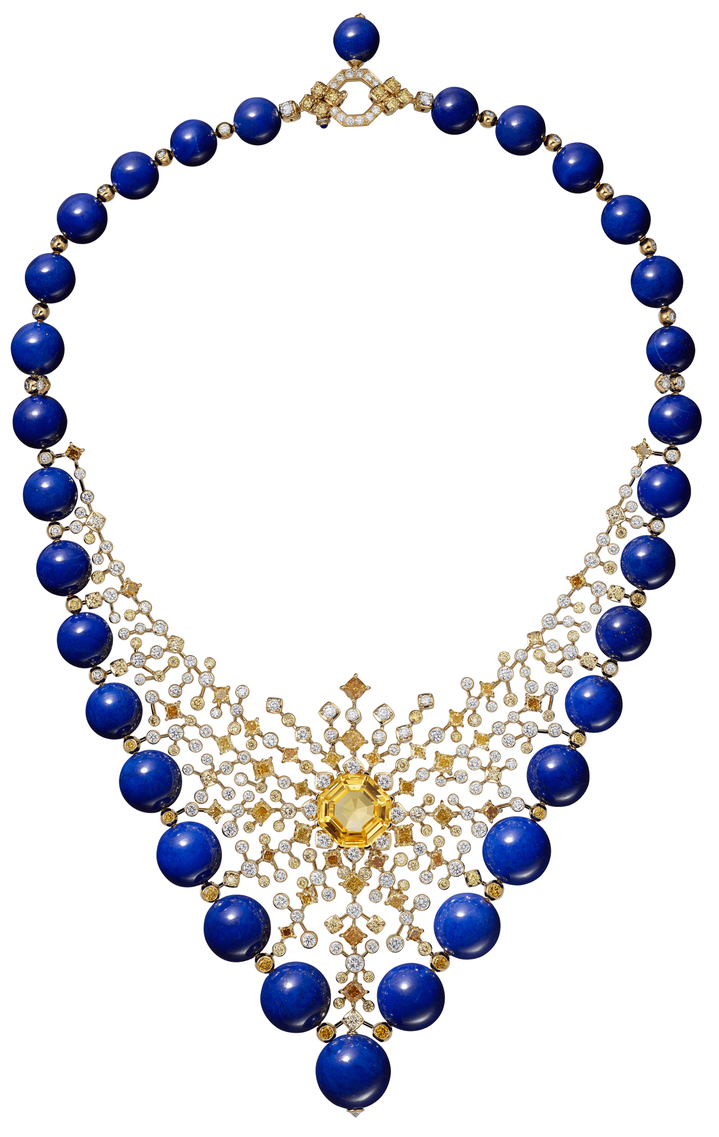 Cartier's Equinoxe necklace from the Magnitude Collection