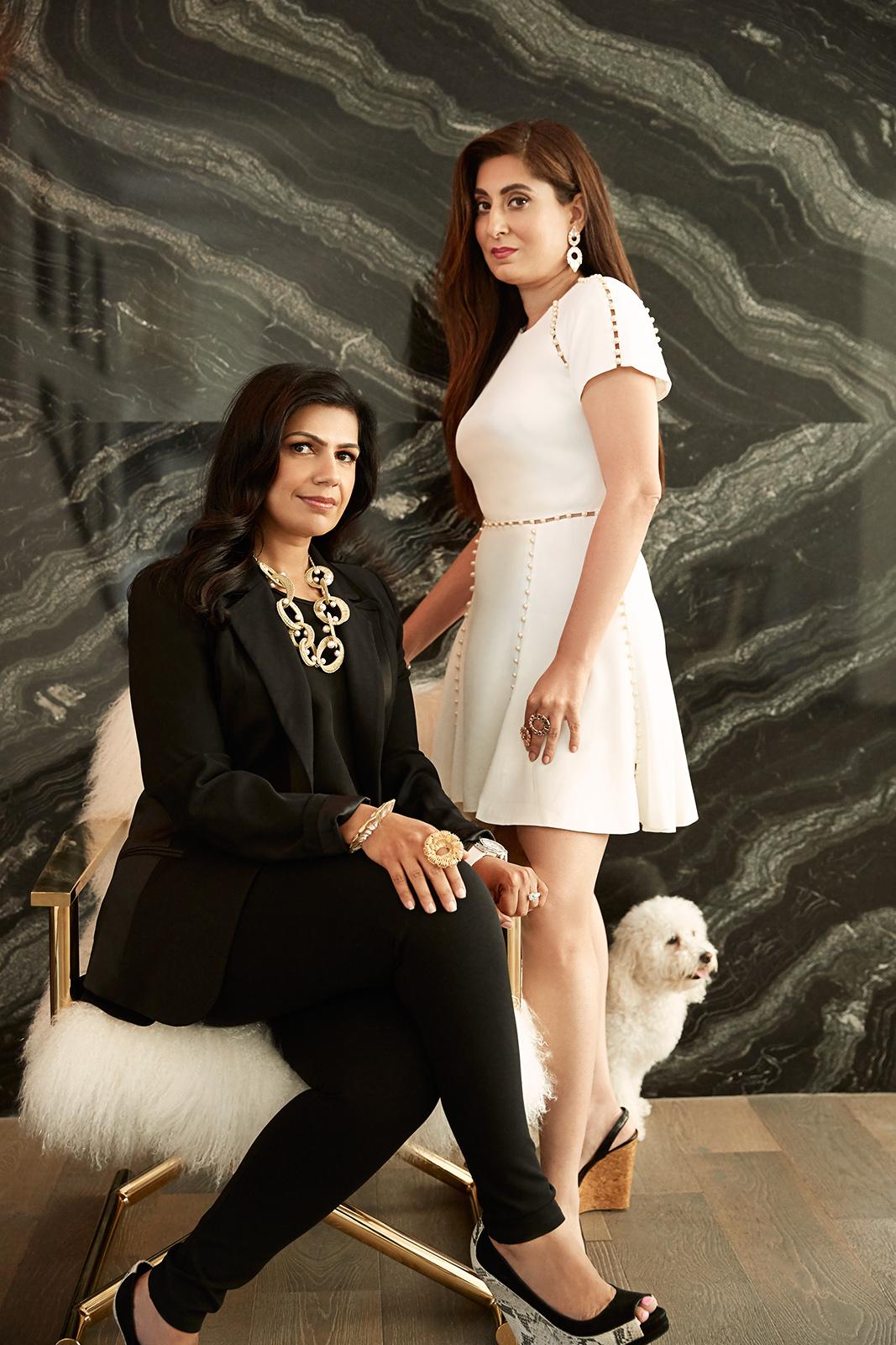 Radhika and Gauri Tandon, Co-Founders, Isharya