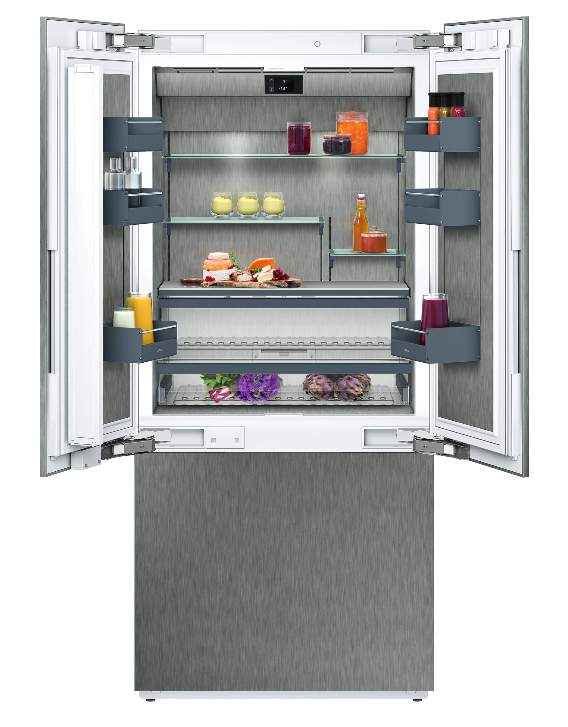Gaggenau Vario fridge and freezer combination