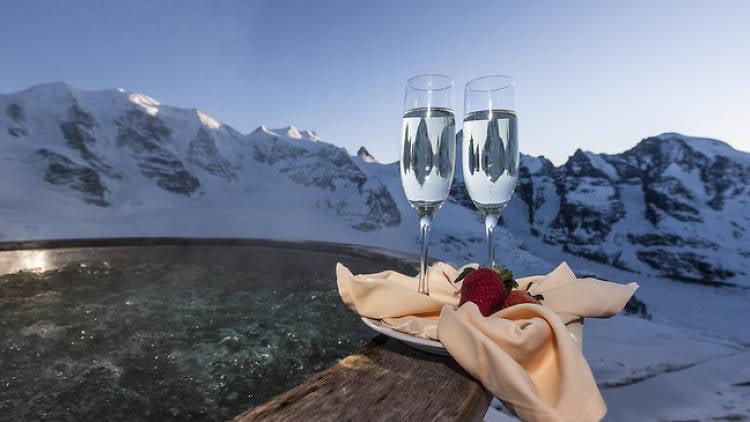 Hot Tub, Berghaus Diavolezza, St. Moritz