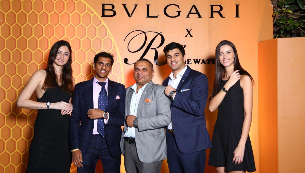 Arjun, Biren and Karan Vaidya