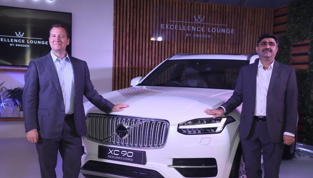 Mr Charles Frump, Managing Director, Volvo Car India (Left) with Mr Jyoti Malhotra, Director Sales & Marketing, Volvo Car India