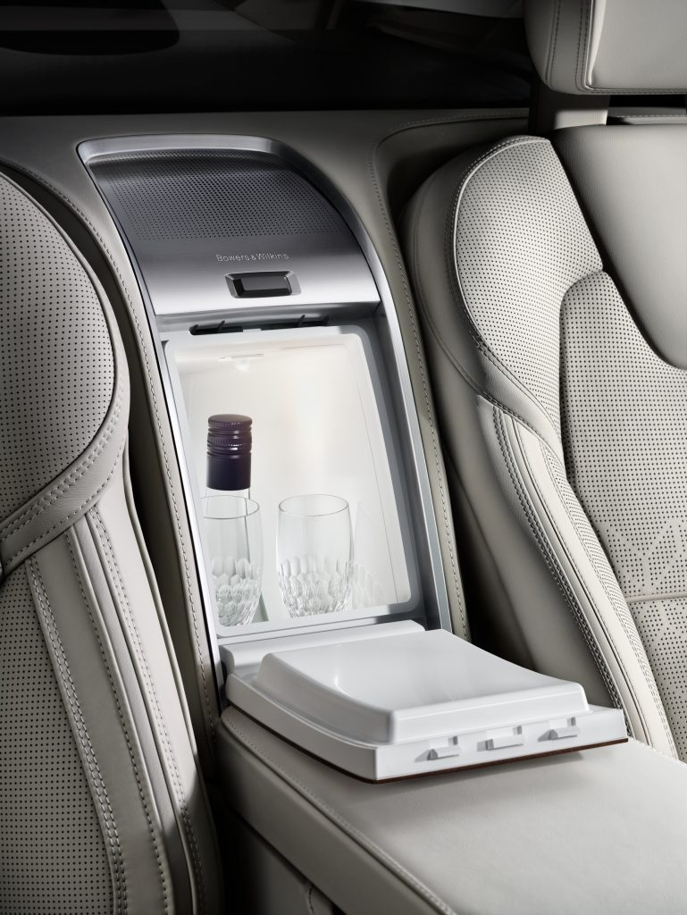 Interior of the Volvo XC90 Excellence Lounge