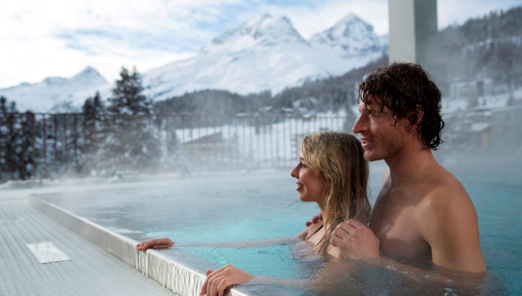 Ovaverva Hallenbad, Spa & Sportzentrum, St. Moritz