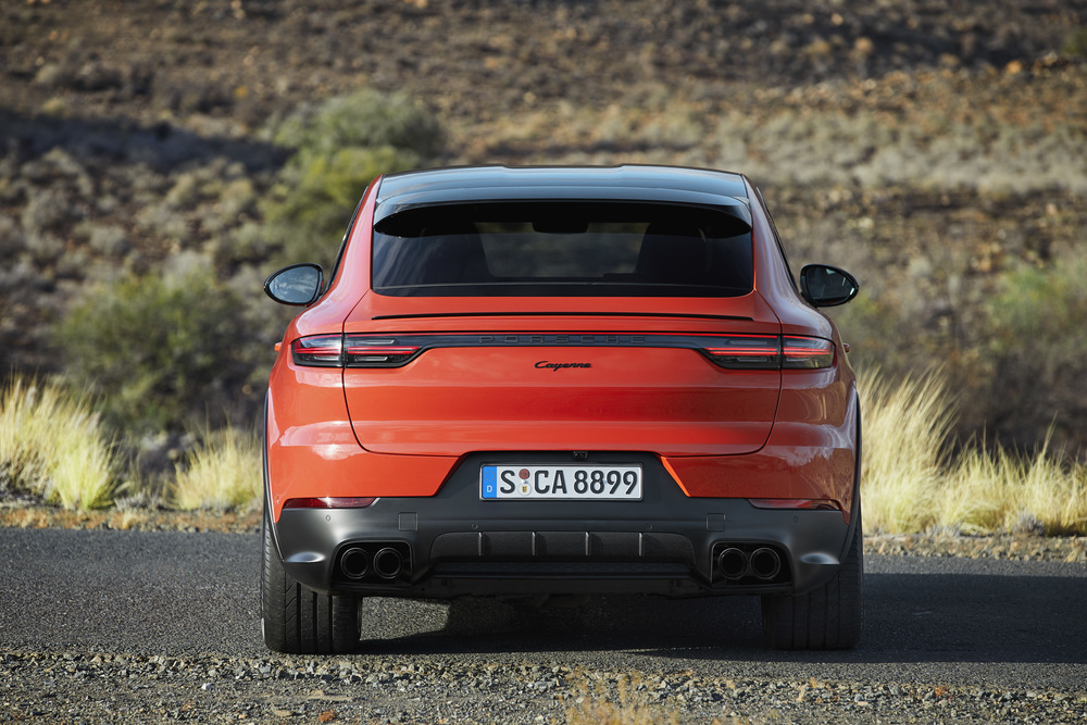 The new Cayenne Coupe