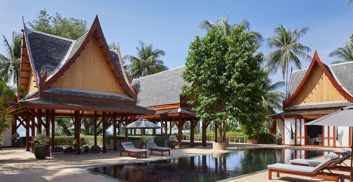 Garden view villa, Amanpuri