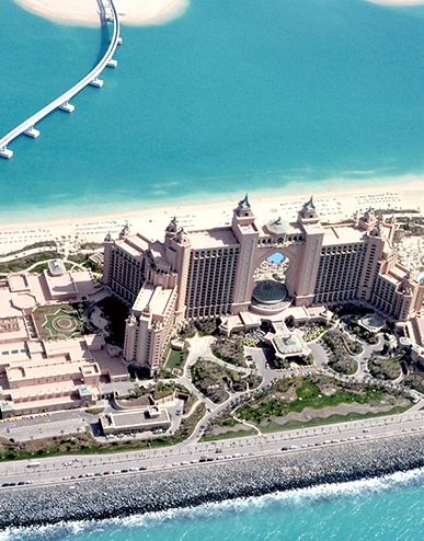 Atlantis from the sky