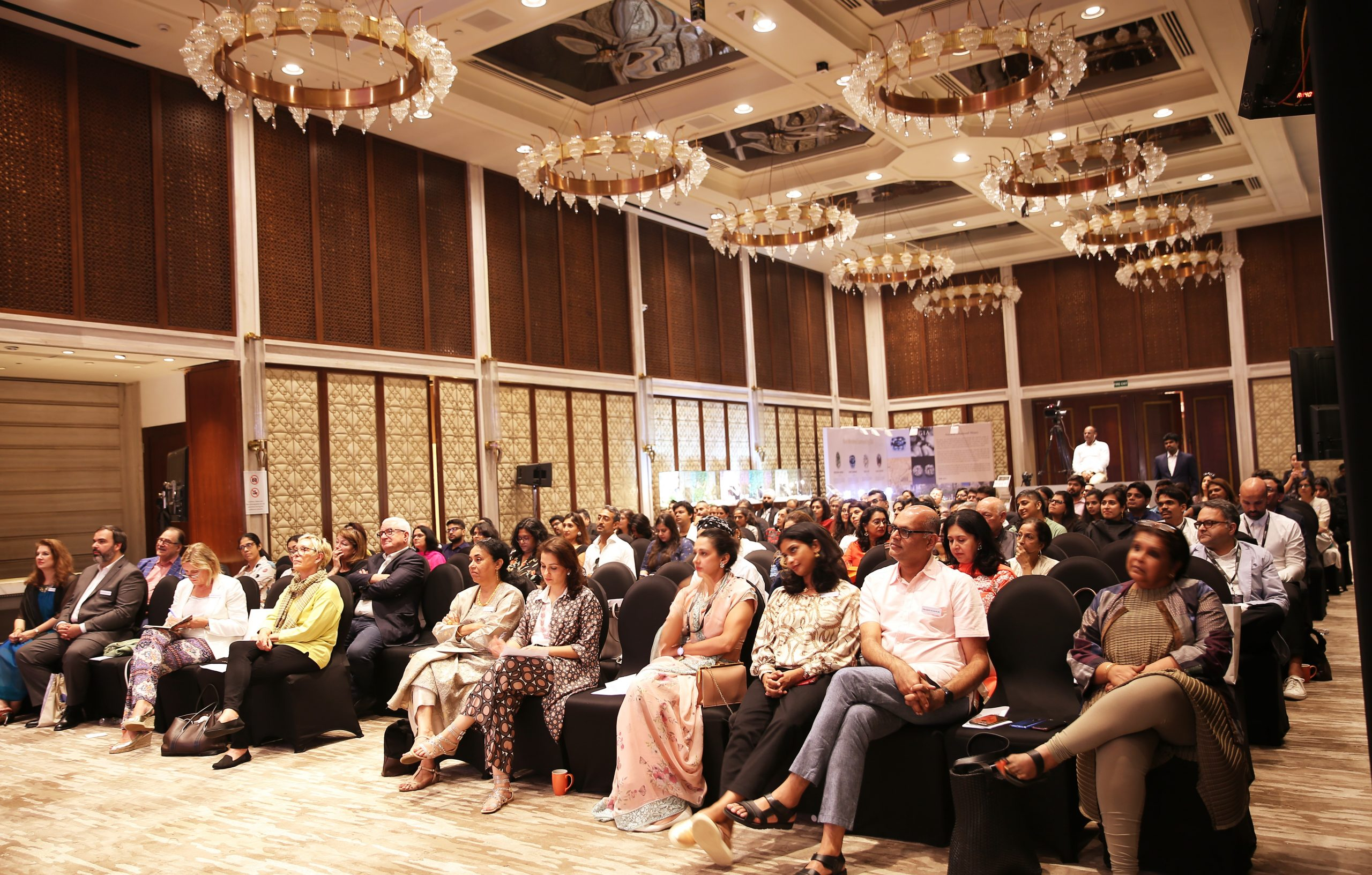 A glimpse of the diverse international audience at Mapping a Legacy of Indian Jewels