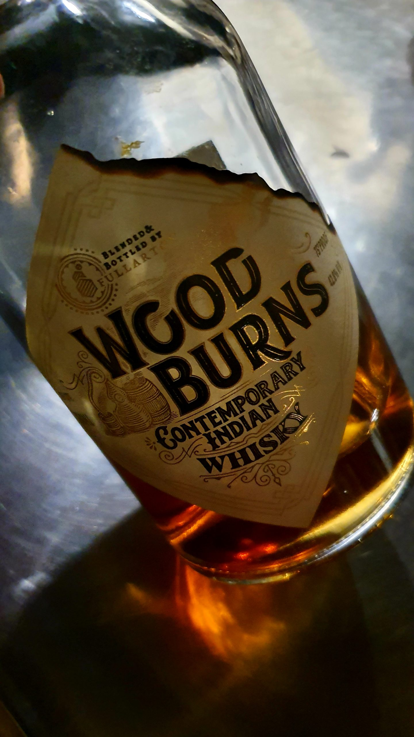 Woodburns Indian whisky