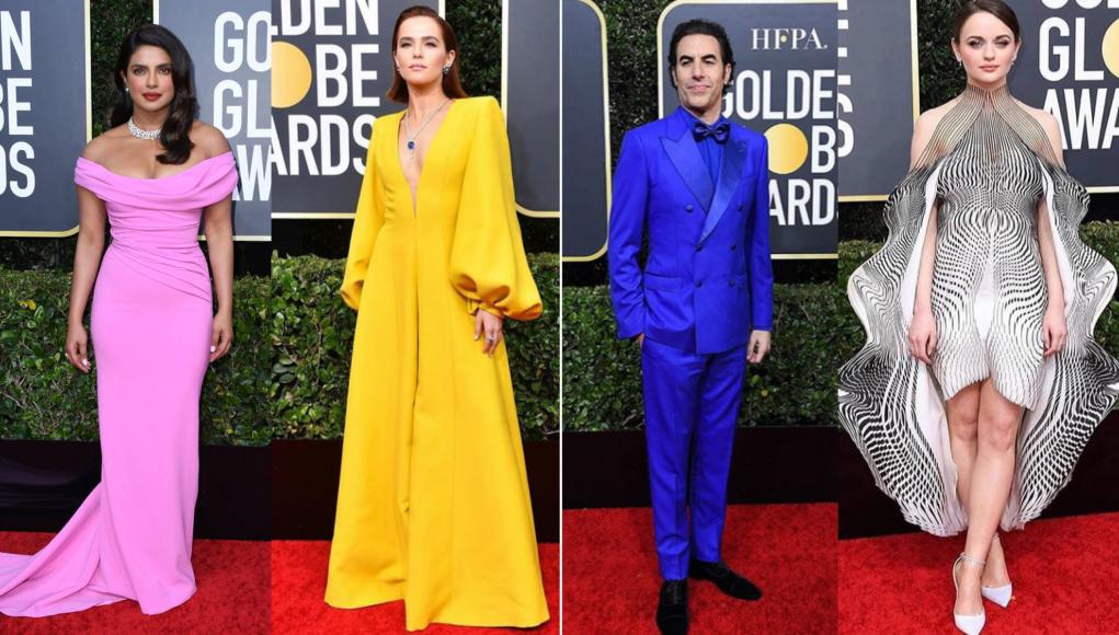 Celebrities at Golden Globes 2020
