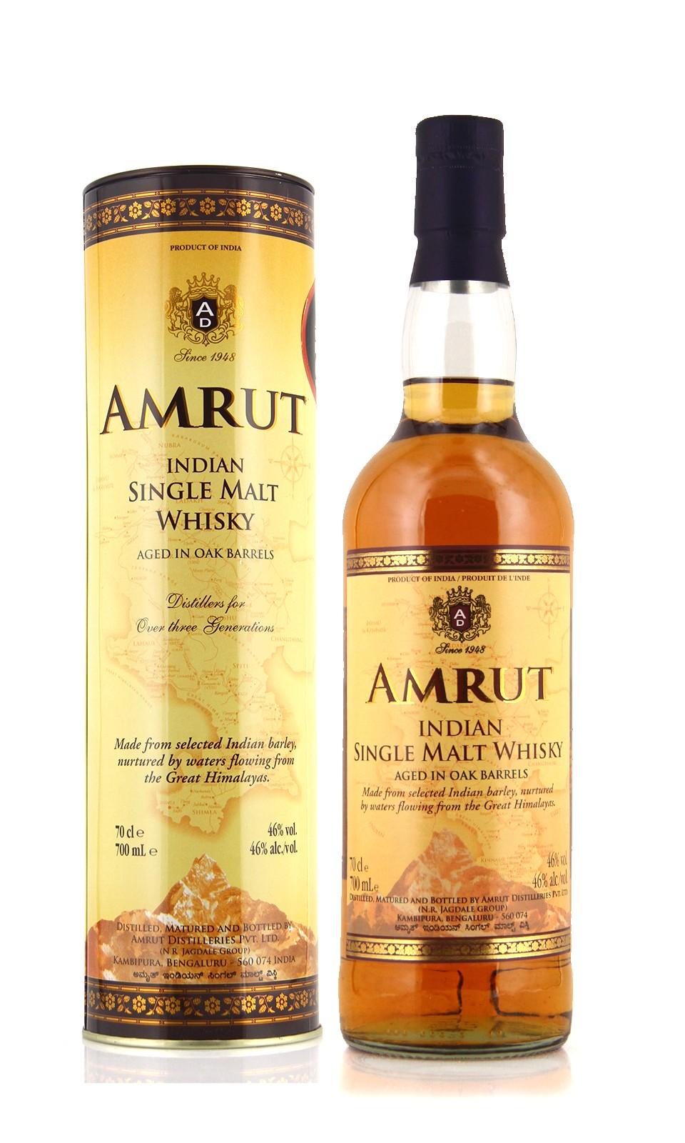 Amrut- Indian single malt whisky