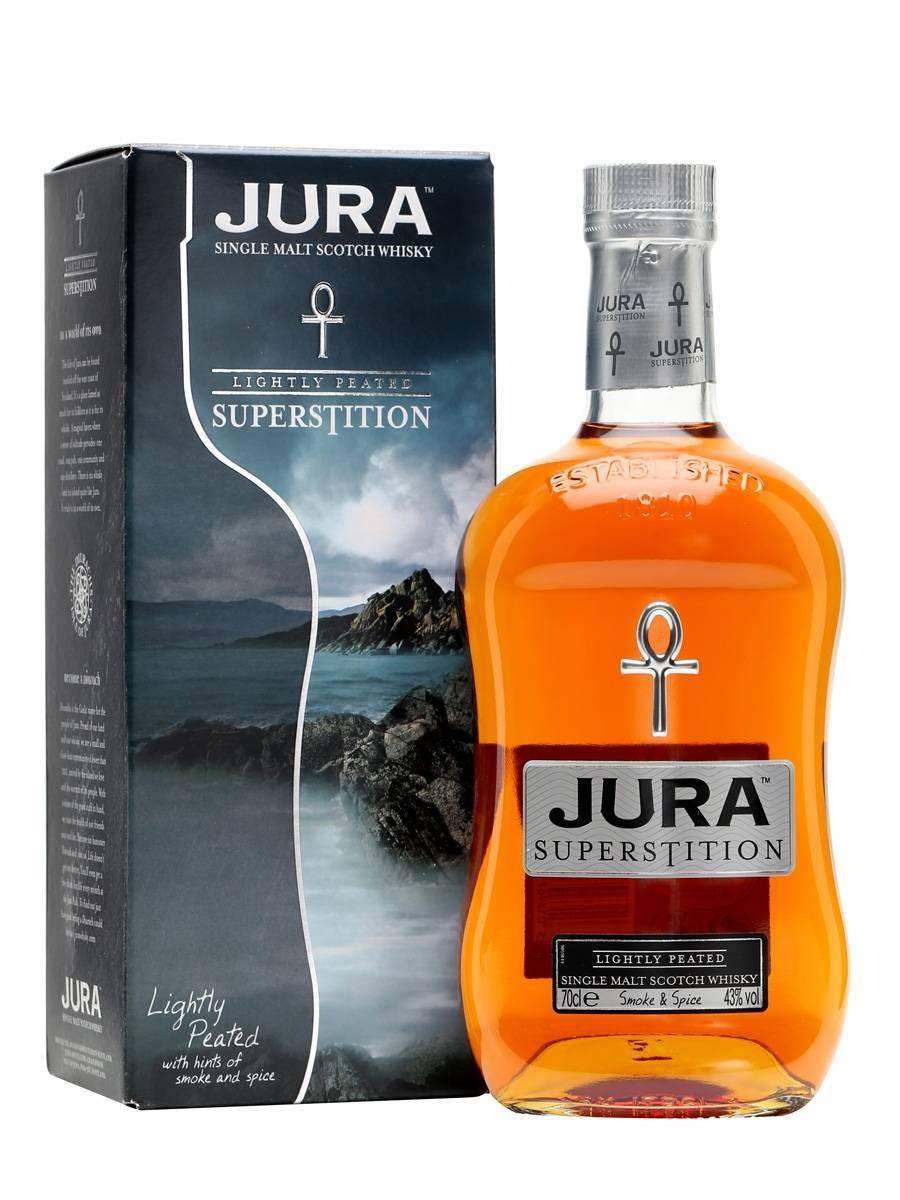 Jura superstition single malt scotch whisky