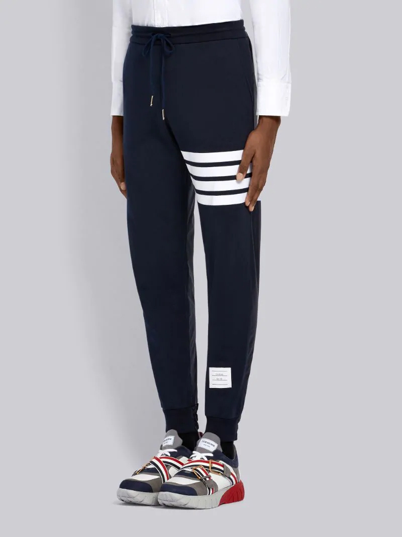 4-bar half & half sweatpants, Thom Browne