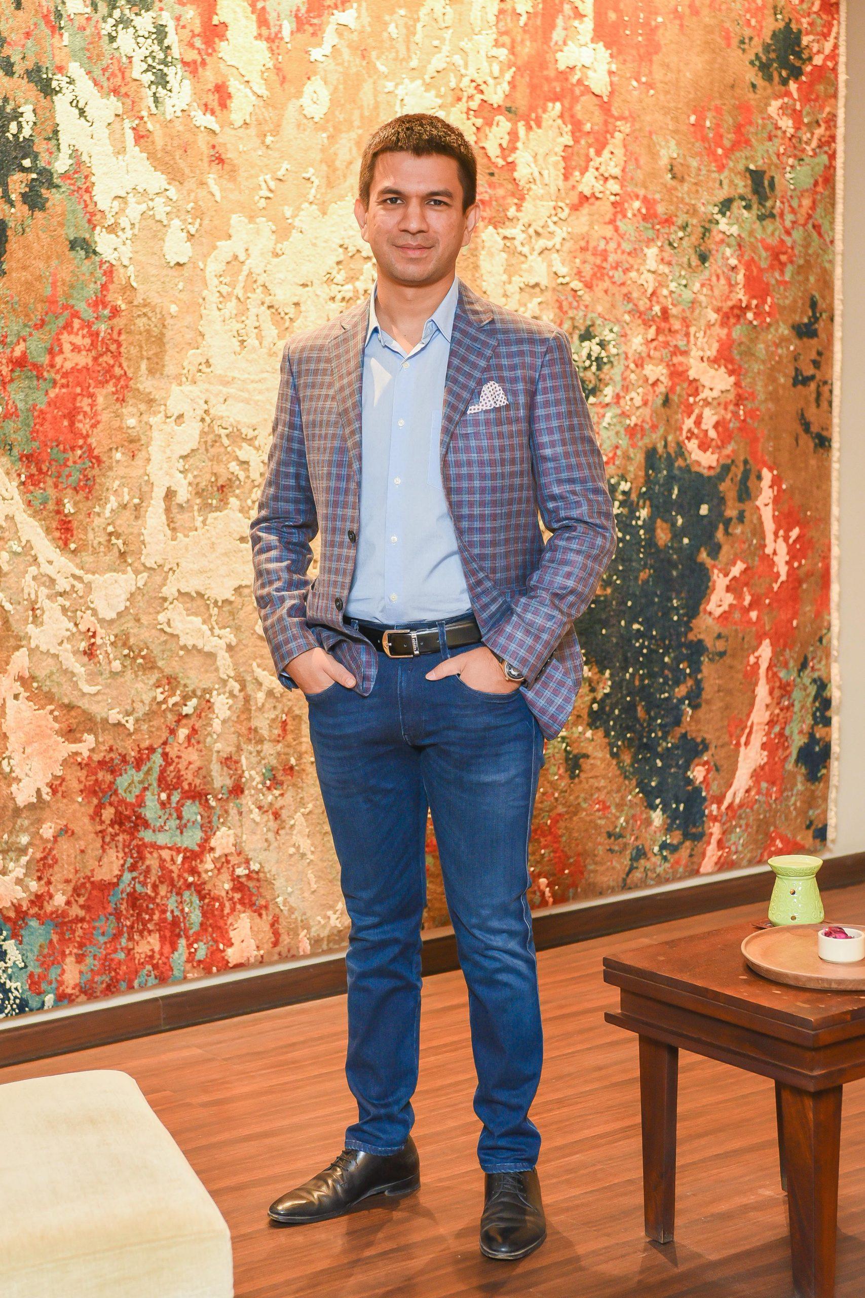 Ayush Choudhary- Founder, Cocoon Fine Rugs