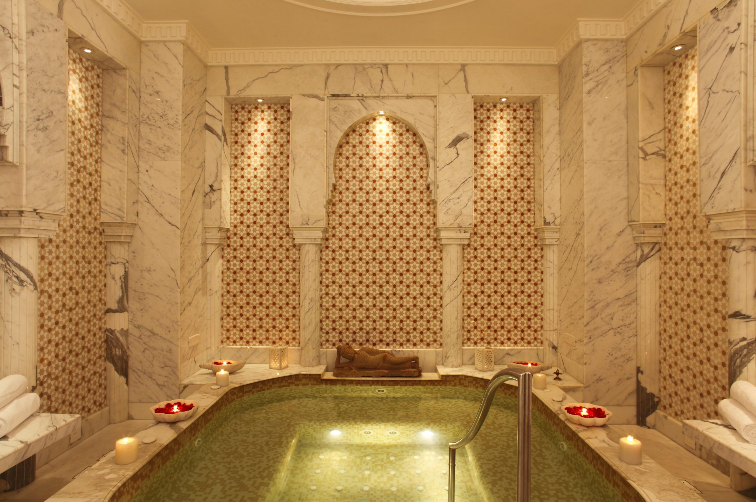 Hydrotherapy suite at the Imperial spa, The Imperial, New Delhi