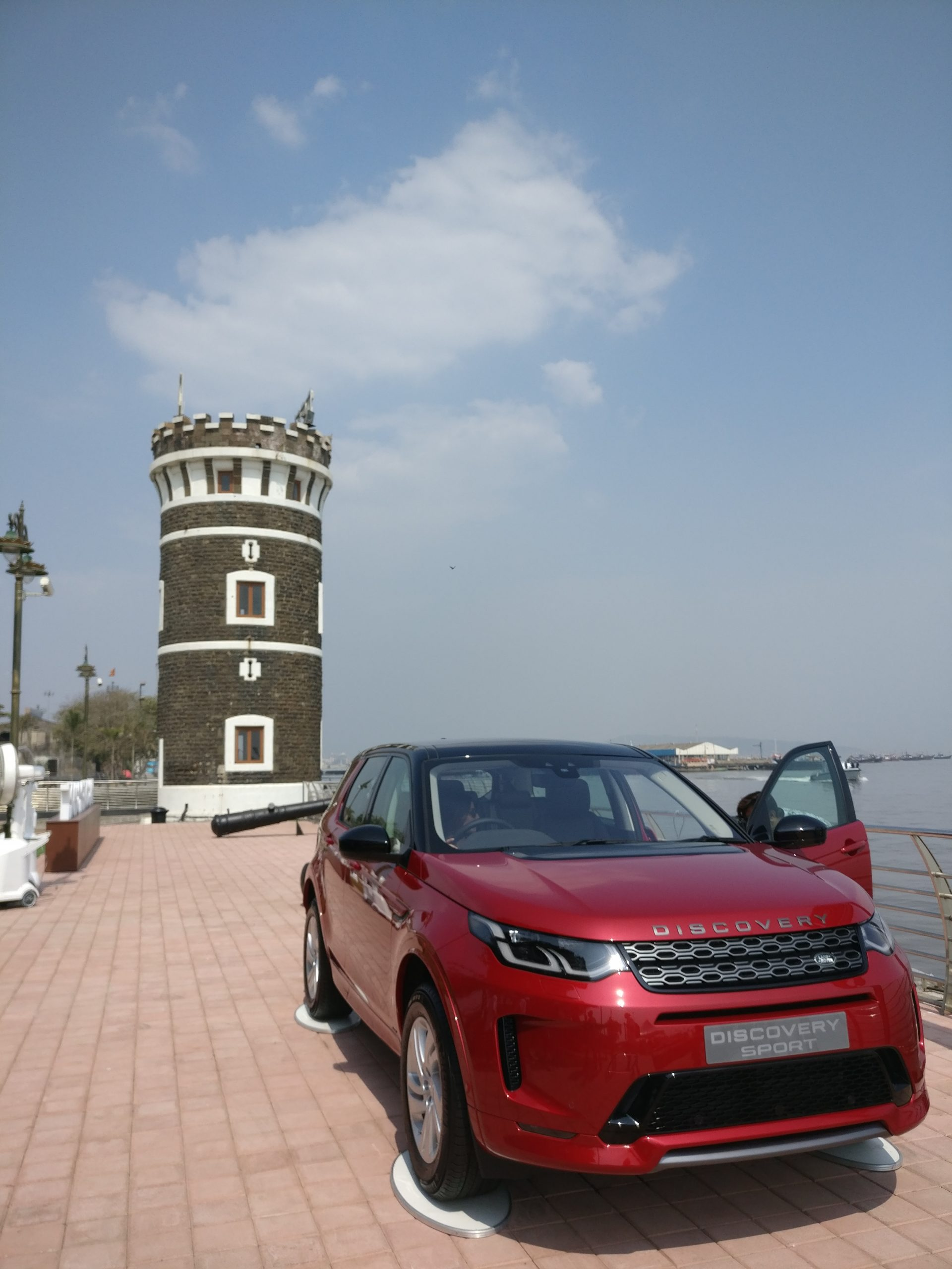 Discovery Sport was launched at Bayview Lawns, Mumbai Port Trust
