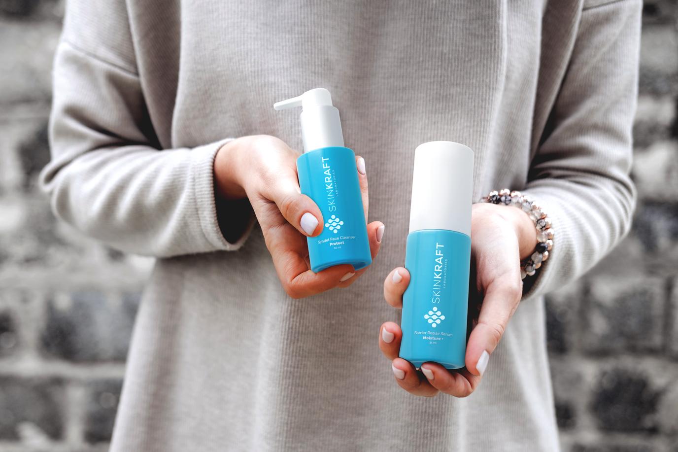 Facewash and moisturiser from Skinkfraft