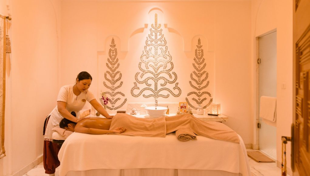 The Imperial Balance massage at The Imperial Spa