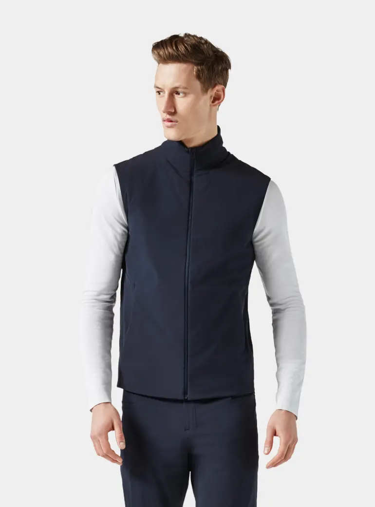 Men's padded vest, Aeance