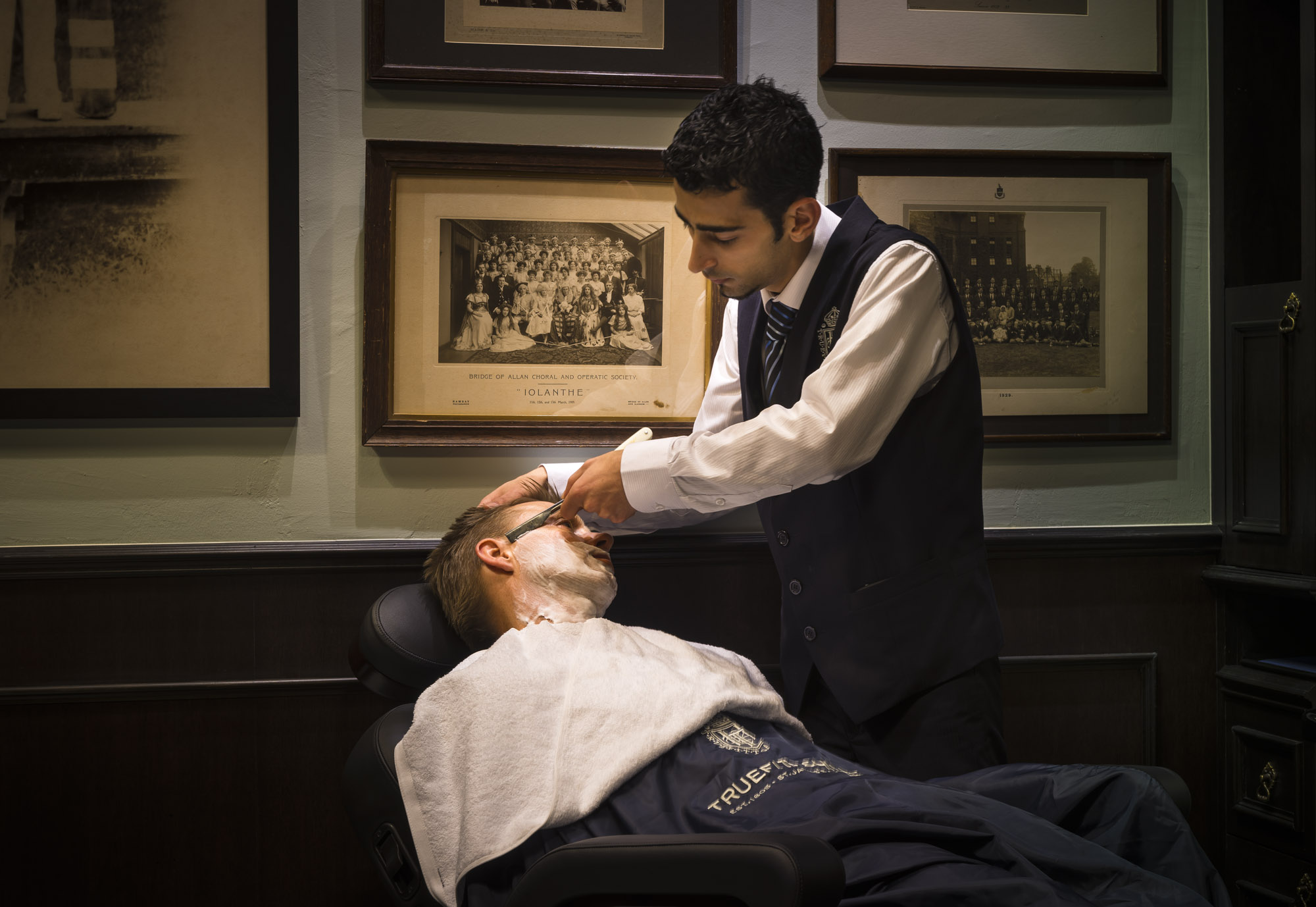 Grooming services at Truefitt & Hill