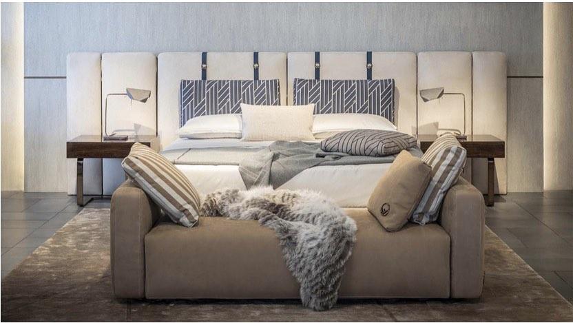 A Fendi Casa bed available on Seetu Kohli's website