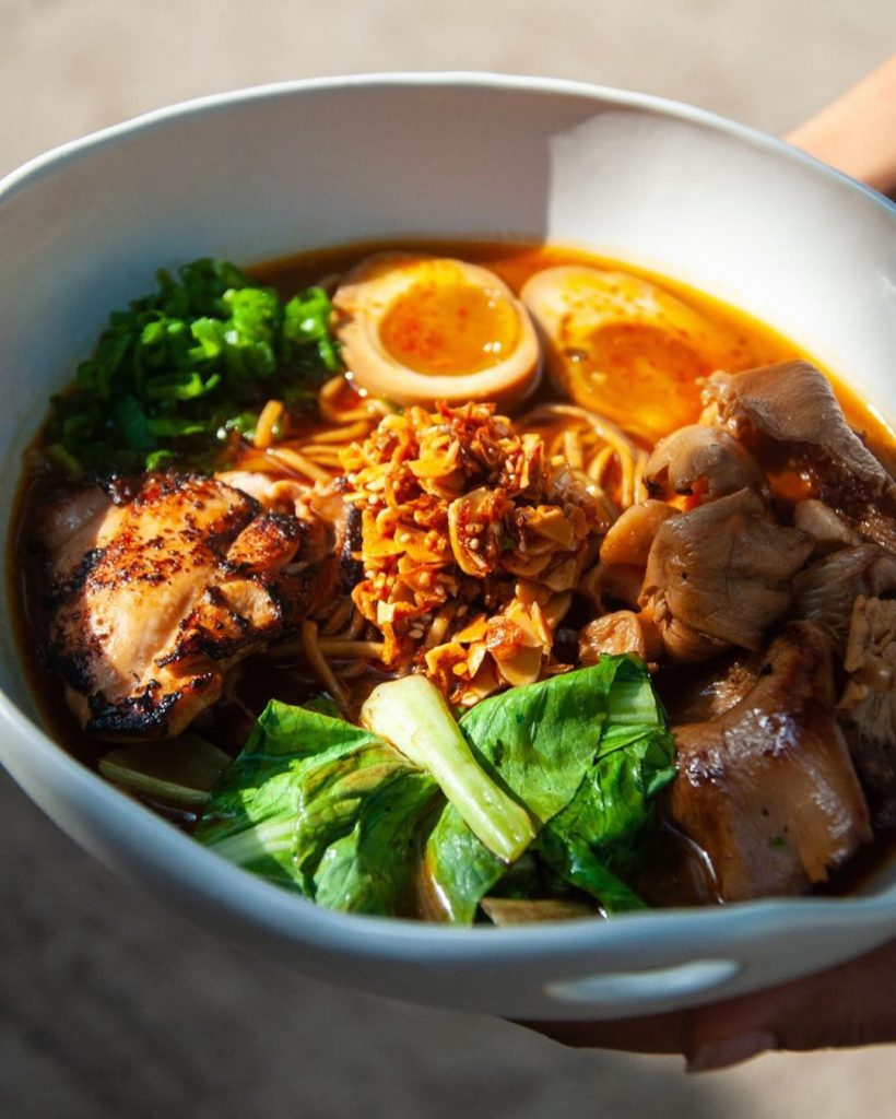 Chicken Ramen- Masque