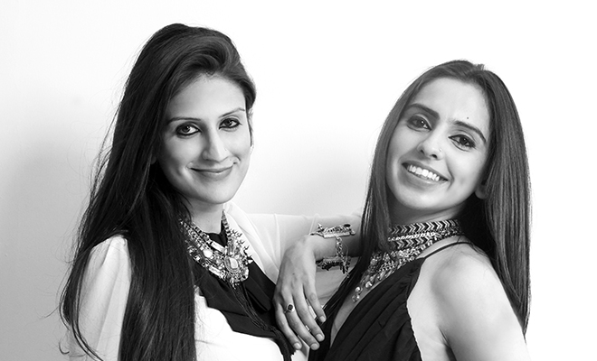 Sasha and Kaabia Grewal Co-Founders, Outhouse Jewellery