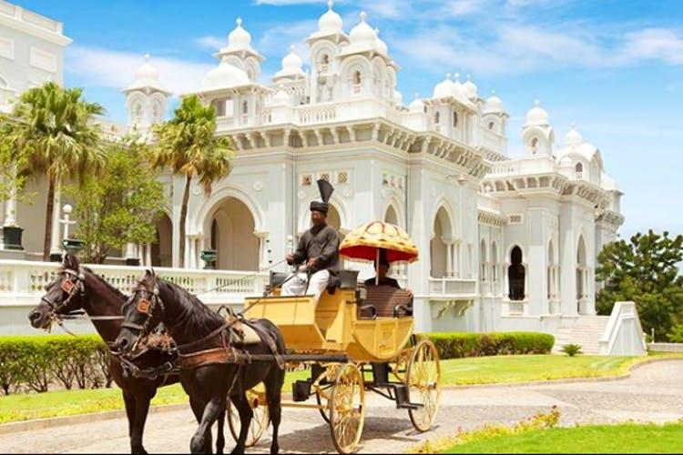 Taj Falaknuma palace, India